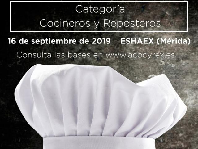 II Certamen Regional de Gastronomía 2019 (Bases modificadas 17/07/2019)